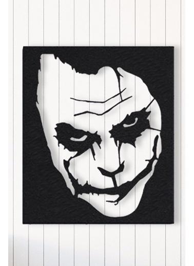 Angemiel Home Joker Metal Duvar Tablosu Siyah
